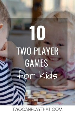 10 kids board games that work well with two players. Your kids will love them, and parents will enjoy many of them too!